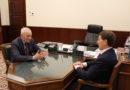 Полномочный представитель Президента РФ в ЦФО Алексей Гордеев встретился с Госсекретарем Союзного государства Григорием Рапотой
