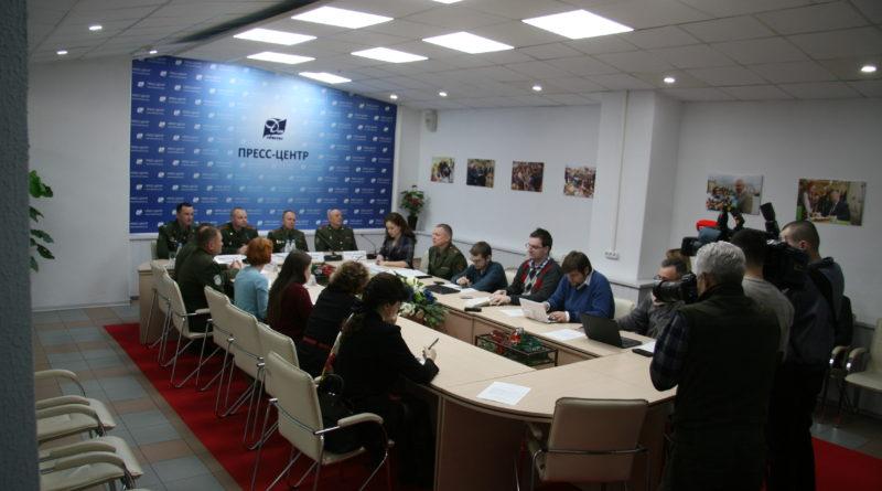 14 марта в Пресс-центре Дома прессы состоялась пресс-конференция на тему: «Современное состояние системы военного образования в Республике Беларусь».
