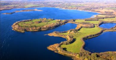 Озеро Нарочь: вода в форме сердца