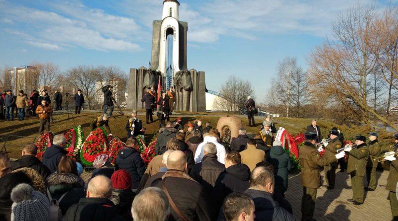 Память воинов-интернационалистов, погибших во время боевых действий на территории Афганистана, почтили 15 февраля 2020 года в Минске на острове Мужества и Скорби.