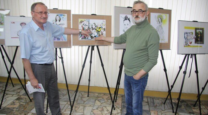 31 ліпеня 2020 года ў Доме прэссы адкрылася выстава мастака Алега Карповіча